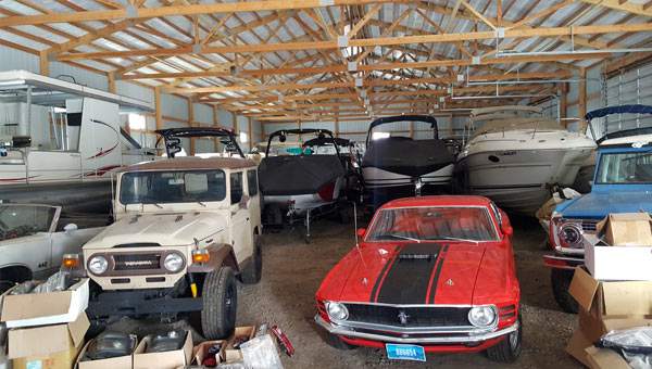 Kalispell Boat Storage Low Rates -  Glacier Off-Road